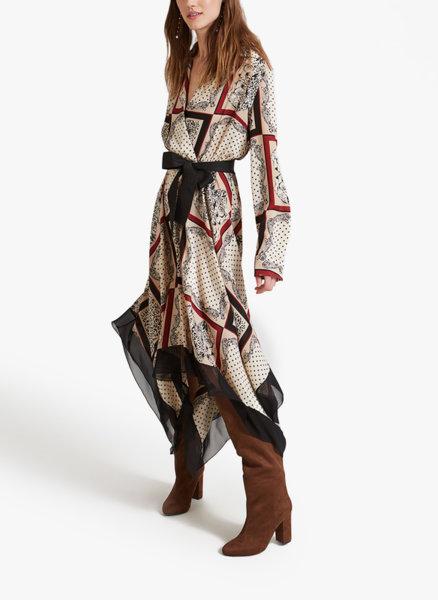 Дълга асиметрична рокля Motivi