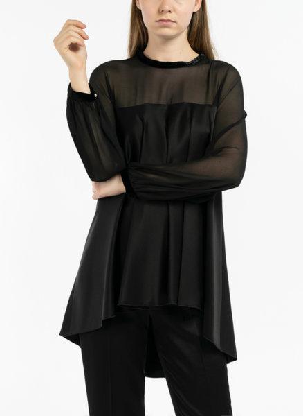 Блуза от жоржет Max Mara Hieros