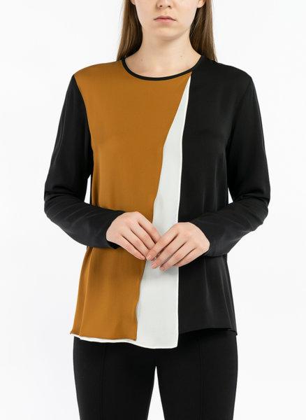 Блуза с 'Color block' дизайн Max Mara Zenit