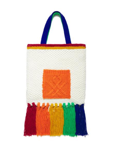 Чанта с ресни Benetton