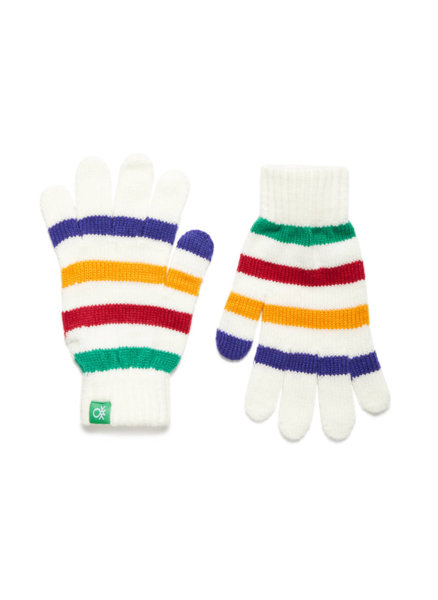 Ръкавици с райе Benetton
