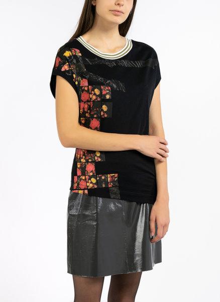 Асиметрична блуза Sisley