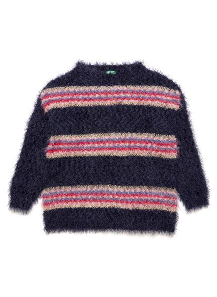 Пуловер с райе Benetton
