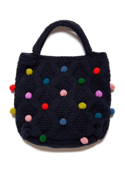 Чанта с помпони Benetton