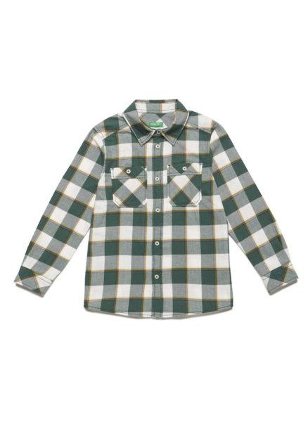 Карирана риза Benetton