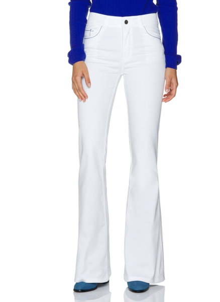 Разкроен панталон с лого Benetton