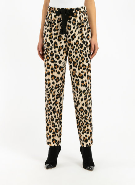 Панталон с анималистичен десен Boutique Moschino