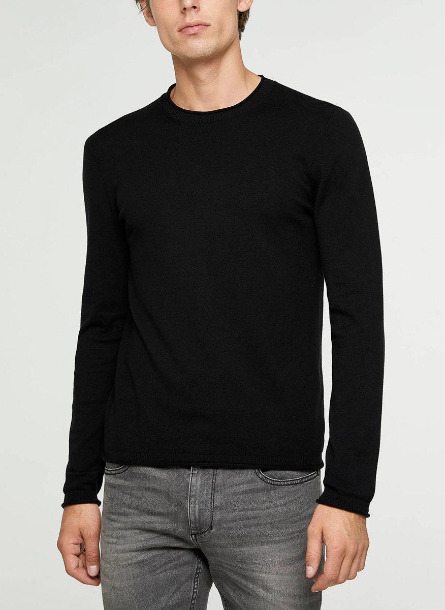 Памучен пуловер Sisley-Copy