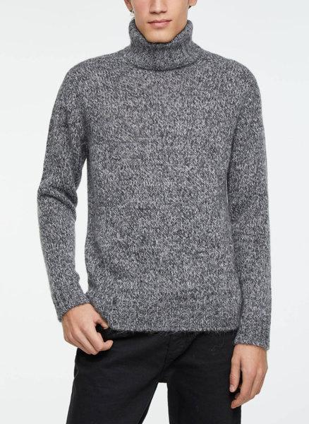 Пуловер тип поло Sisley