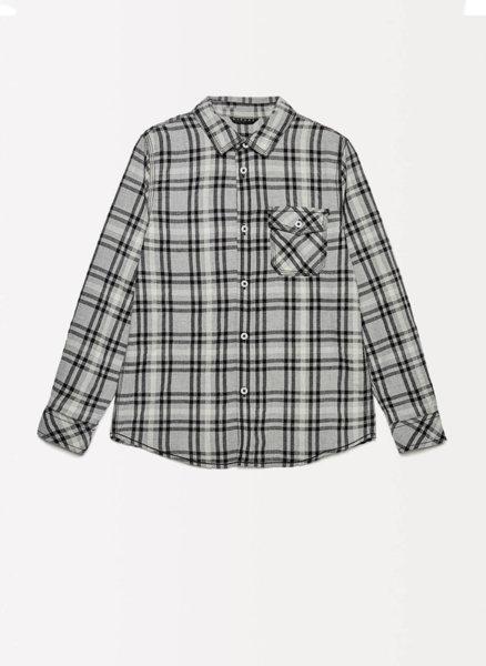 Памучна риза с принт Sisley Young