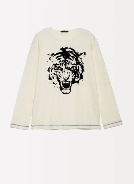 Памучна блуза с принт Sisley Young