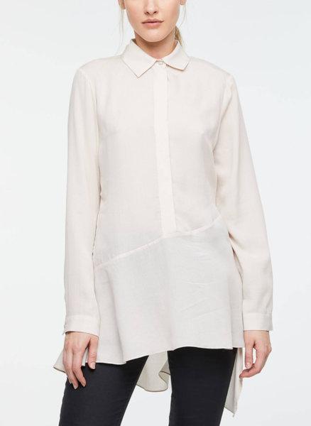 Риза с асиметричен детайл Sisley