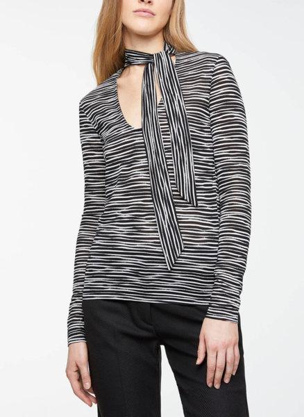 Блуза с детайл панделка Sisley