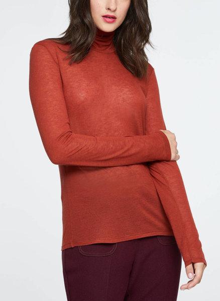 Блуза с поло яка Sisley