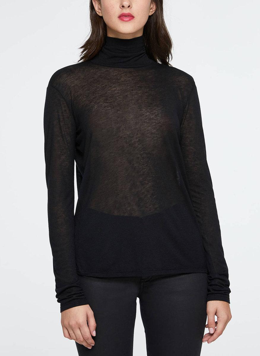 Блуза с поло яка Sisley-Copy