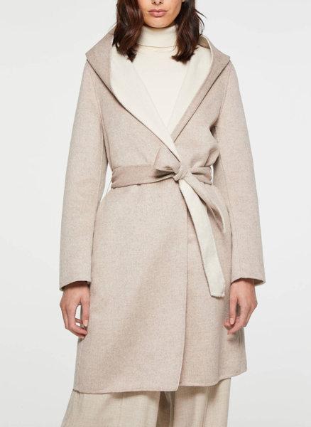 Палто с качулка Sisley