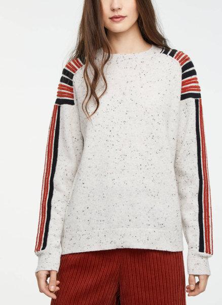 Пуловер с лурекс Sisley