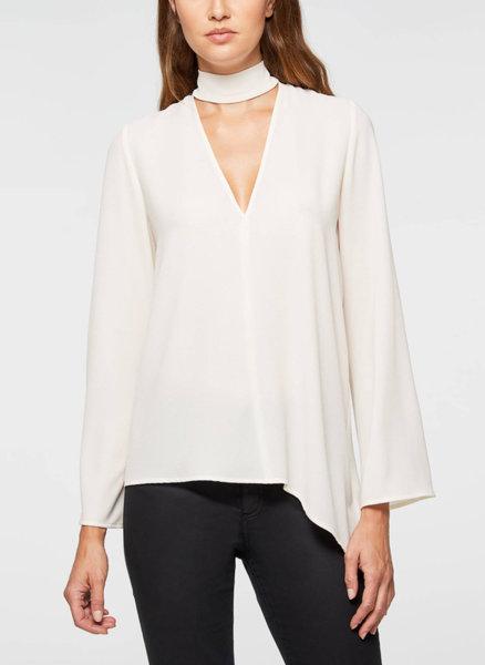 Блуза с флуидна кройка Sisley