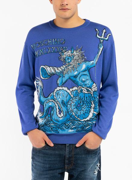 Вълнен пуловер Moschino