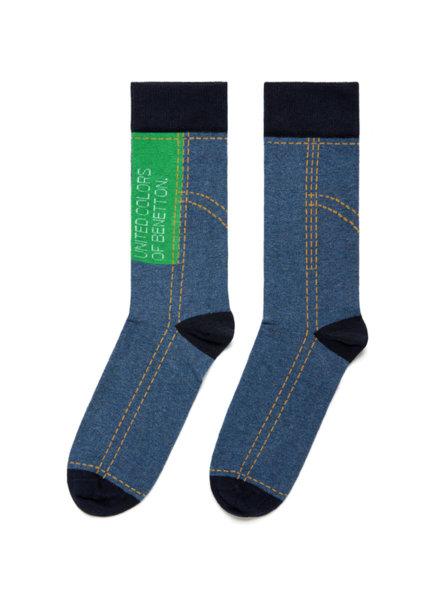 Чорапи с лого Benetton