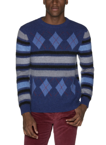 Пуловер в райе Benetton