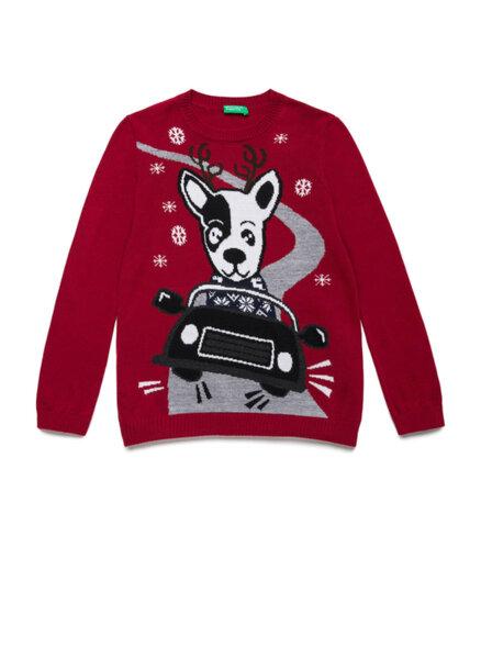 Коледен пуловер Benetton