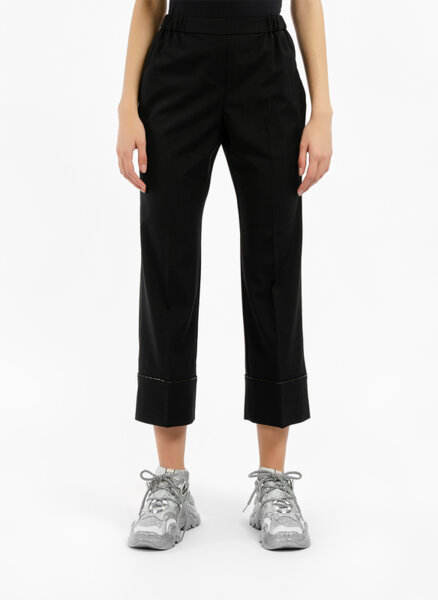 Панталон с декоративни детайли Nº21