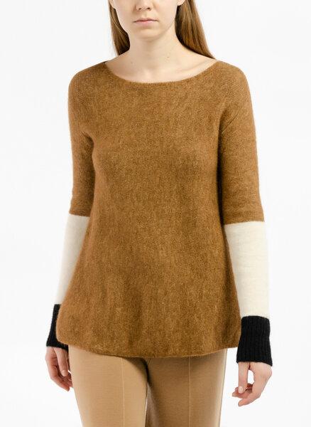 Пуловер с 'Color block ' детайл Pennyblack Olandese