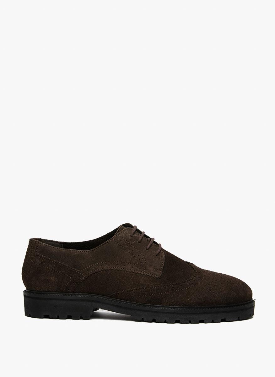 Велурени 'Brogue' обувки