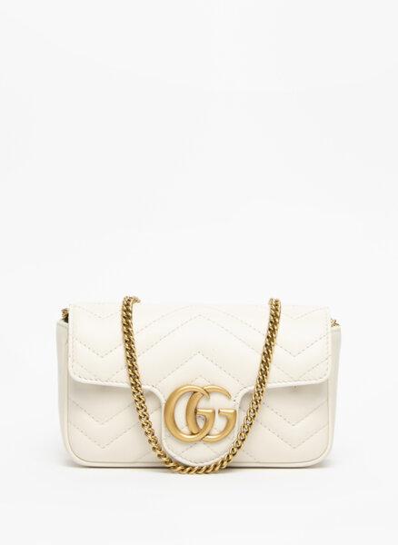 Супер мини чанта GG Marmont Gucci