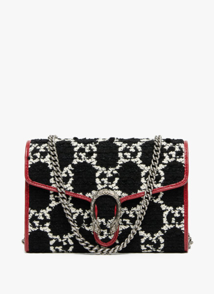 Чанта от туид Gucci Dionysus