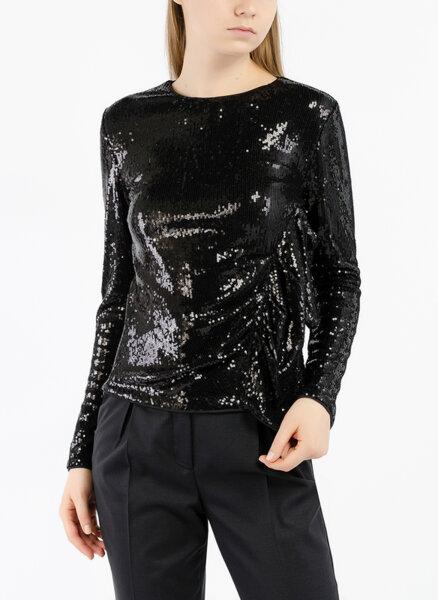 Блуза с пайети Sisley