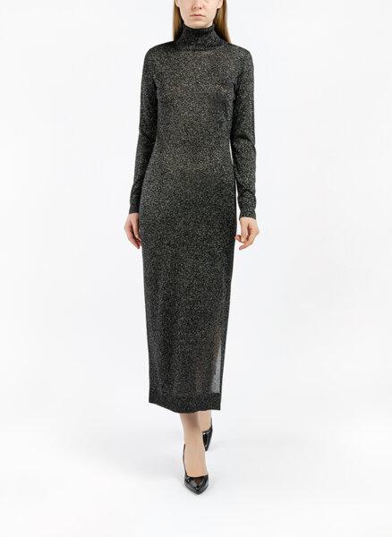 Дълга рокля с ламе Sisley