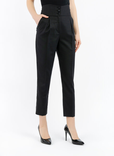 Панталон с висока талия Sisley