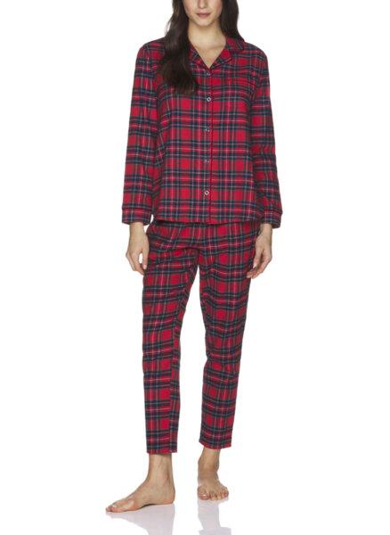 Пижама с кариран принт Benetton