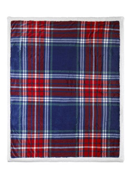 Kарирано одеяло Benetton