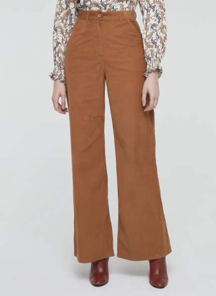 Панталон с ефект кадифе Sisley