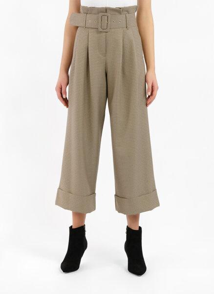 Панталон със скъсена кройка Motivi