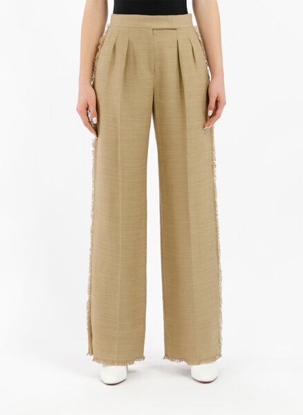 Панталон с микро ресни Max Mara Riviera