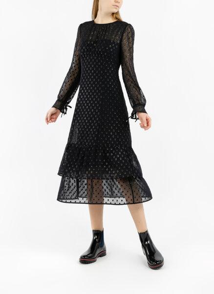 Миди рокля с ефект блясък Marc Cain Collections