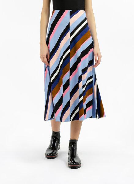 Миди пола с геометричен дизайн Marc Cain Collections