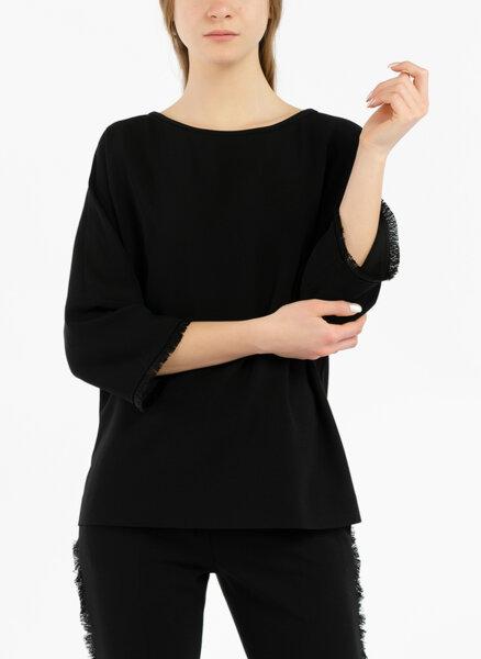 Блуза с ресни Max Mara Pisa