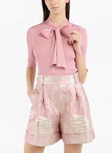 Блуза с метален ефект Dolce&Gabbana