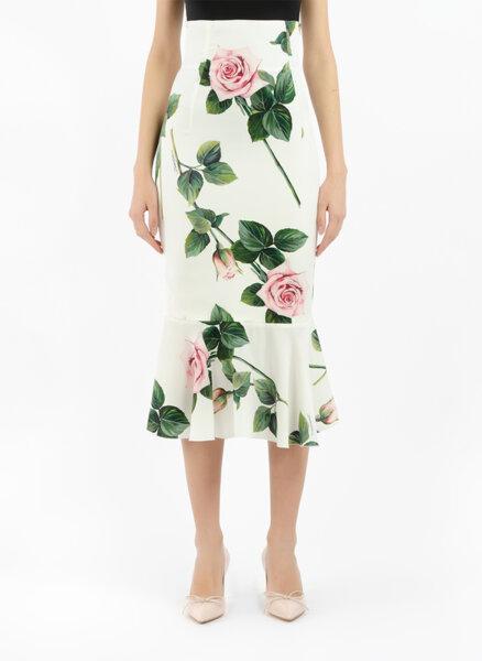 Пола с висока талия Dolce&Gabbana