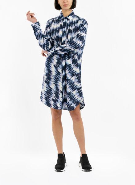 Копринена рокля с колан Sportmax Giostra
