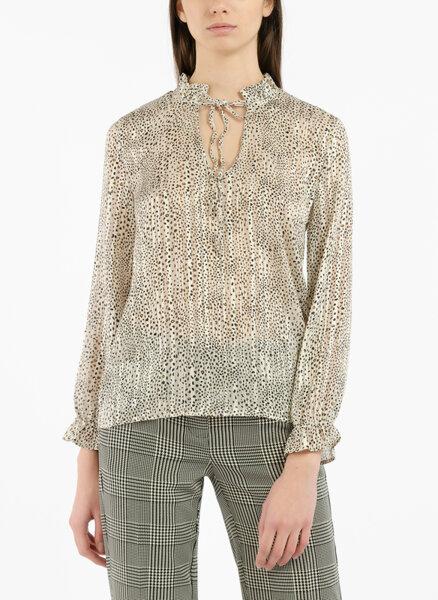 Блуза с цялостен принт Motivi