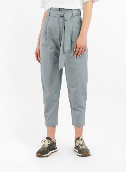 Панталон с колан на талията Brunello Cucinelli