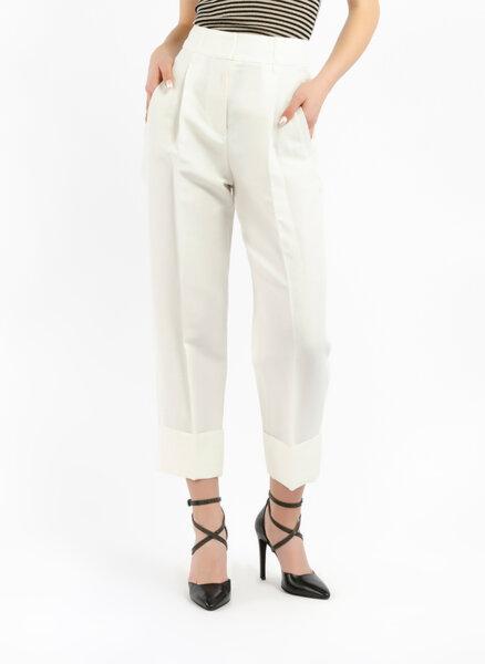 Панталон с лен  Brunello Cucinelli