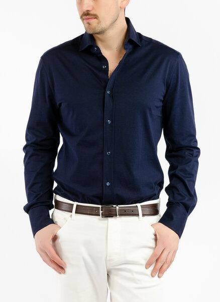 Риза с френска яка Brunello Cucinelli