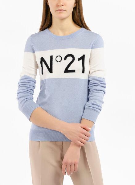 Пуловер с  'Color block ' детайл Nº21